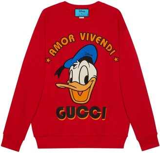 Gucci Disney x Donald Duck sweatshirt