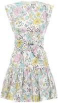 Zimmermann Peggy Flounce Short Dress