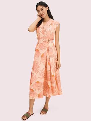 Kate Spade Falling Flower Jacquard Dress