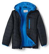 Lands' End Toddler Boys Packable Primaloft Jacket-Zesty Orange