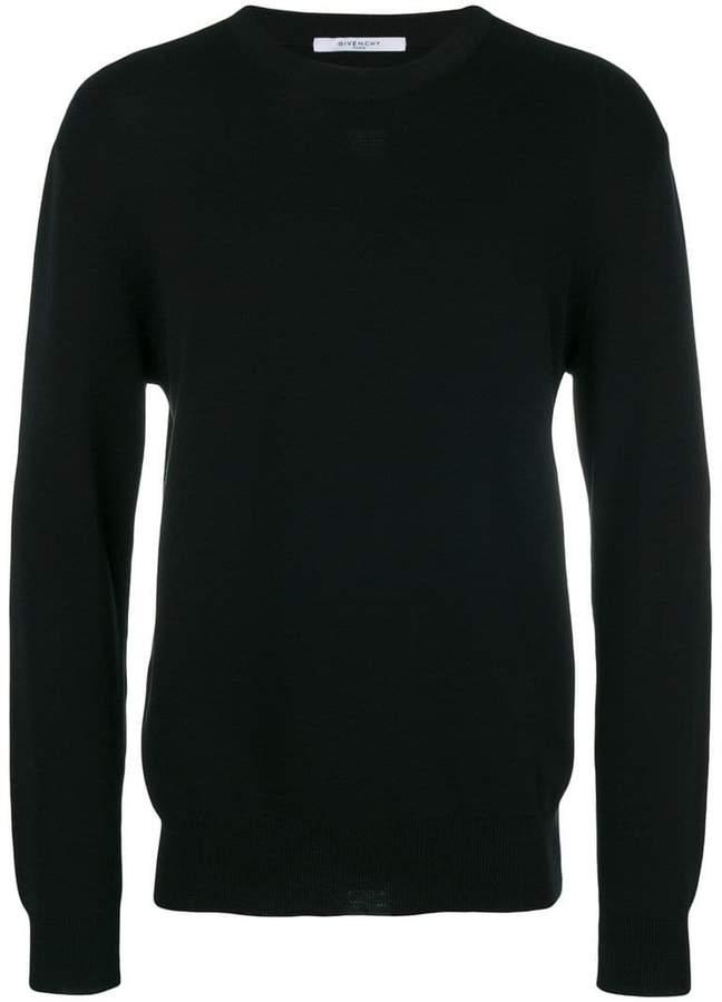 Givenchy fine knit crewneck sweater