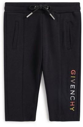 Givenchy Kids Rainbow Logo Sweatpants