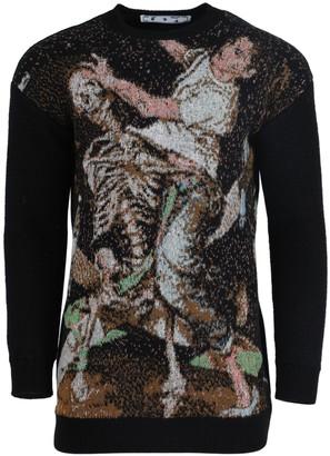 Off-White Pascal Jacquard Crewneck Sweater
