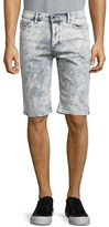 Calvin Klein Jeans Cotton-Blend Denim Shorts