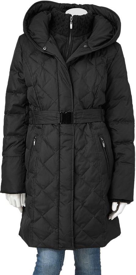 Apt. 9 hooded puffer jacket
