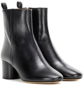 Isabel Marant Deyissa Leather Ankle Boots