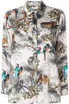 Blugirl jungle print shirt