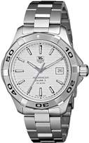 Tag Heuer Men's WAP2011BA0830 Aquaracer Dial Watch