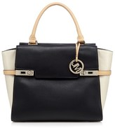Star by Julien Macdonald Double Twist Lock Flapover Tote