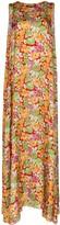 Plan C floral print maxi dress