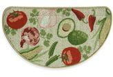 Bacova Mexican Veggie Toss 18-Inch x 31.5-Inch Berber Kitchen Mat in Red/Green