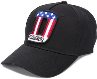DSQUARED2 D-patch baseball cap