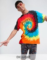 Reclaimed Vintage Inspired Oversized T-Shirt In Tie Dye