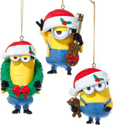 Kurt Adler Despicable Me Set of 3 Ornament Set