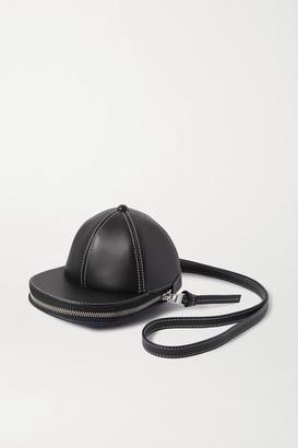 J.W.Anderson Cap Leather Shoulder Bag - Black