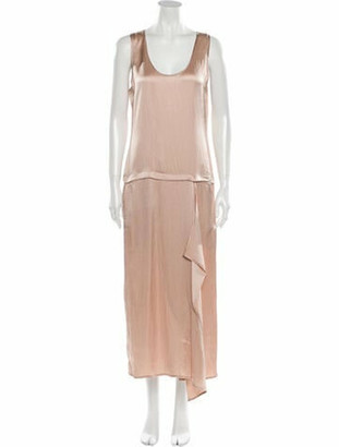 Zero Maria Cornejo Silk Long Dress w/ Tags