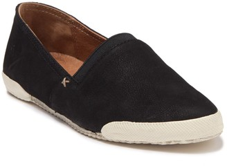 Frye Melanie Leather Slip-On Sneaker