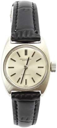 IWC Silver Steel Watches
