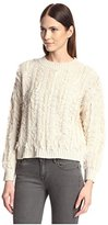 Lucca Couture Women's Fringe Edge Sweater