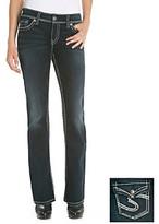 Silver Jeans Co.® Natsuki Curvy Fit High Rise Flap Pocket Bootcut Jeans