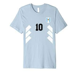 Retro Argentina Soccer Jersey Argentinian football T-Shirt