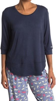 Hue Un-Plug Reboot 3/4 Sleeve PJ T-Shirt