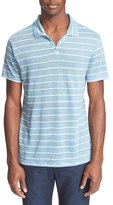 Onia Men's 'Shaun' Stripe Linen Polo