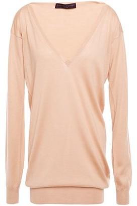 Stella McCartney Cashmere, Silk And Wool-blend Top