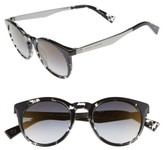 Marc Jacobs Women's 47Mm Keyhole Sunglasses - Black