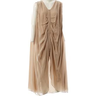 Lala Berlin Beige Silk Dresses