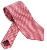 Salvatore Ferragamo Clover Leaf Print Tie