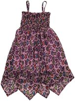Betsey Johnson Cat Nap Hanky Bottom Dress (Toddler/Kid) - Pink-Large