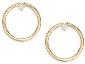 Ila Remi 14K Gold & Diamond Earrings