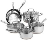 Oneida Stainless Steel Copper Base 10-Piece Cookware Set