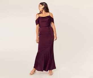 Oasis Cowl Neck Bridesmaid Dress