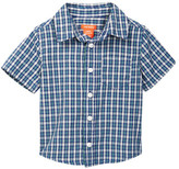 Joe Fresh Short Sleeve Plaid Shirt (Toddler & Little Boys)