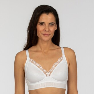 Playtex Feel Good Support Bra in Organic Cotton Mix