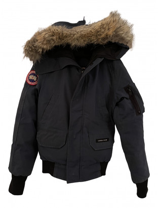 Canada Goose Chilliwack Blue Polyester Jackets & Coats