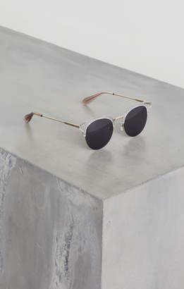 BCBGMAXAZRIA Cat Eye Combo Sunglasses
