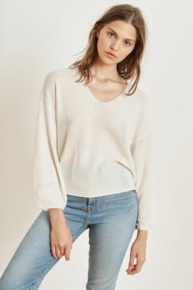 Velvet by Graham & Spencer Alora Cashmere Blend V-Neck Sweater