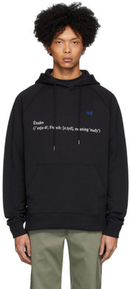 Études Black Wikipedia Edition Racing Definition Hoodie