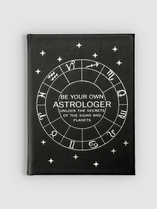 Graphic Image Be Your Own Astrologer Vachetta Leather
