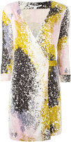 Diane von Furstenberg evening dress with belt tie waist - women - Silk - 10