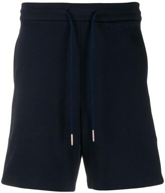 Thom Browne drawstring waist running shorts