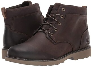 Dunham Jake Waterproof Plain Toe Boot (Brown) Men's Boots