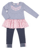Little Lass Legging Set-Baby Girls