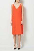 Selected Silk Sheath Dress