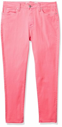 """Seven7 Women's 28"""" Ankle Skinny with Destruction"""