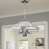 Dale Tiffany Dale TiffanyTM Blue Fused 3-Light Hanging Fixture