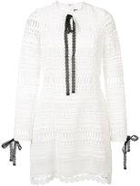 Alexis laced detail dress - women - Polyester/Spandex/Elastane - XS